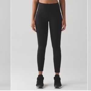 Lululemon Fit Physique Tight Black Legging